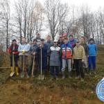 Akcija džemata Rainci Gornji – Okopavanje voćnjaka na vakufskom zemljištu