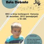 "Humanitarni koncert ""Nota dobrote"""