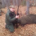 Mladi lovac Mirnes Huremović ustrijelio vepra