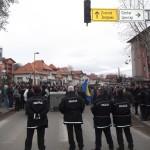 """Završeni protesti: Demonstranti tražili ostavke načelnika, svih vijećnika, svih direktora i svih uposlenika Općine. Policiji pomagali i """"zlatni ljiljani"""""""
