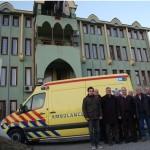 Rasim Omerović od Willima Pronka preuzeo ključeve sanitetskog vozila vrijednog oko 75.000 KM