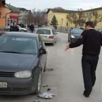 """""""Zafirom"""" u automobil predsjednice Općinskog suda Kalesija"""