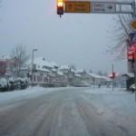 Zbog snijega otežano saobraćanje, zbog radova usporen saobraćaj na dionici Simin Han-Kalesija