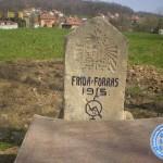 Spomenik iz Prvog svjetskog rata na Međašu