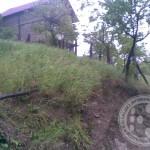 Klizište prijeti lokalnom putu u Hrasnu, u naselju Dedajići ugrožene kuće
