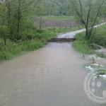 FOTO: Gribaja odnijela most u Babinoj Luci
