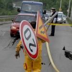 Potpuno obustavljen saobraćaj na dionici Simin Han – Babajići