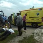 FOTO: U saobraćajnoj nesreći u Gornjoj Kalesiji povrijeđene dvije osobe