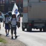 """FOTO: Učesnici """"Marša mira"""" iz Mostara i Konjica stigli u Kalesiju"""