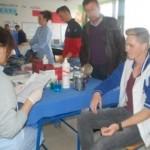2.septembra u Gornjim Raincima akcija dobrovoljnog darivanja krvi