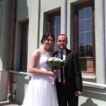 Ni bolest ih nije omela u ljubavi: Aldina Sarajlić i Elvir Nuhanović završili pred matičarem