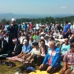 """Dignute glave i dignute ruke povratnika Bošnjaka: Obnovljeno dovište """"Orlić"""" iznad Hajvaza (FOTO)"""
