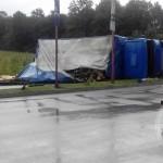 FOTO: U prevrtanju kamiona na Mahali dvije osobe povrijeđene
