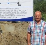 Udareni temelji novog mosta prema Gojčinu