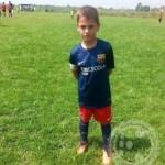 Safet Selimbašić, sedmogodišnji nogometni talenat: Uzor mu je Miralem Pjanić