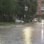 FOTO: Voda blokirala ulaz u Kalesiju, nekoliko objekata poplavilo