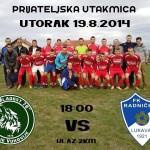 U utorak, u Donjim Vukovijama: Mladost 78 – Radnički (Lukavac)