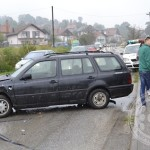 FOTO: U saobraćajnoj nesreći u Miljanovcima povrijeđene dvije osobe