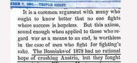 New York Times 1880. godine pisao o Bošnjacima