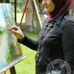 Admira Ramić – Smajić, kalesijska likovna umjetnica: Ponosna na slike koje krase zidove širom Evrope