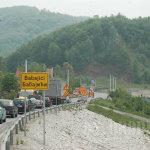 Problemi na magistralnom putu Tuzla – Kalesija u Babajićima i Čaklovićima: Pokrenuto novo klizište, sanaciju usporavaju imovinski odnosi