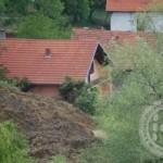 Zbog klizišta evakuisana jedna porodica u Babajićima