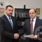 Edin Ramić iz Šehera preuzeo jutros funkciju ministra raseljenih osoba i izbjeglica