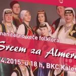 Humanitarno veče folklora u BKC-u za liječenje Almera Mustafića