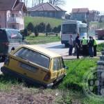 Saobraćajna nesreća u Gornjim Petrovicama (FOTO)