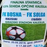 Danas, u Kalesiji, Bosna – Sloga igraju finale Šehidskog kupa