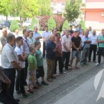 Ispred BKC-a održan skup podrške Naseru Oriću