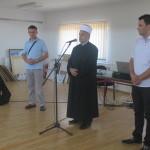 FOTO: Veliki broj građana na izložbi o Srebrenici, autora Rame Abidovića