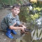 Elvir Hamzić iz Miljanovaca u korito Spreče pustio divlje patke