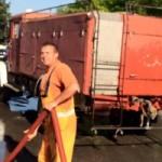 FOTO: Jutros počelo pranje ulica u Kalesiji