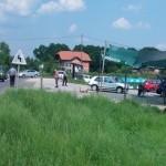 FOTO: U saobraćajnoj nesreći u Vukovijama povrijeđena jedna osoba