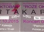 "Humanitarni koncert za ""Nijemi krik"" 2. oktobra"