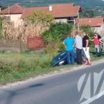 FOTO: Pasat završio u kanalu u Miljanovcima