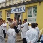 Štrajk upozorenja: Uposleni u Domu zdravlja Kalesija obustavili rad