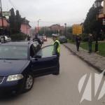 FOTO: Saobraćajna nesreća u centru Kalesije