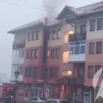 Gorjela zgrada u centru Kalesije, brzom intervencijom vatrogasaca spašeni stanovi