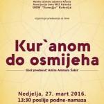 "Asocijacija žena MIZ Kalesija i Udruženje ""Summeja"" organizuje predavanje ""Kur' anom do osmijeha"""