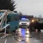 Teška saobraćajna nesreća u Raincima