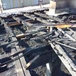Pogledajte kako izgleda krov TC Piemonte nakon jučerašnjeg požara