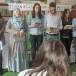 FOTO&VIDEO/U Kalesiji obilježen Svjetski dan poezije: Učenici čitali stihove Abdulaha Sidrana, Maka Dizdara, Alekse Šantića…