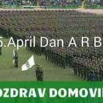 SDP Kalesija: Čestitka povodom 15. aprila – Dana Armije RBiH
