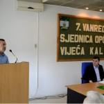 """Fikret Suljkanović za govornicom OV Kalesija održao """"lekciju"""" kolegama vijećnicima"""