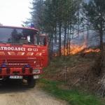 Ugašena vatra na Visu, požar namjerno izazvan