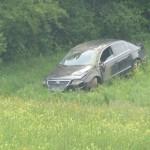 Mahmutovići: Izgubio kontrolu nad vozilom i završio u njivi