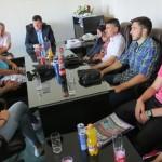 """Ismet Mešić primio najbolje sportiste KBS """"Golden Team"""" Kalesija"""