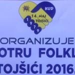 U subotu deseta jubilarna smotra folklora u Tojšićima
